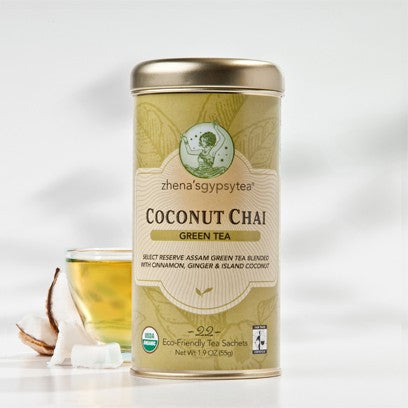 Zhena's Gypsy Tea - Coconut Chai Green 44g