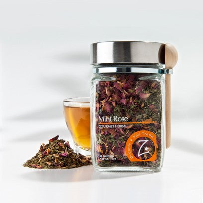 Zhena's Gypsy Tea - Mint Rose Jar 57g