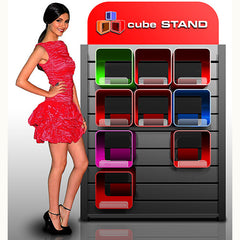 Retail Displays -Cube Stand
