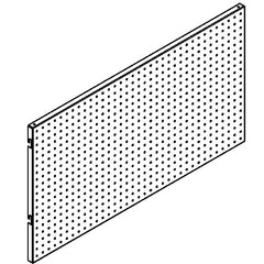 Shelving Systems- Perforated Panels for a 1200 Gondola