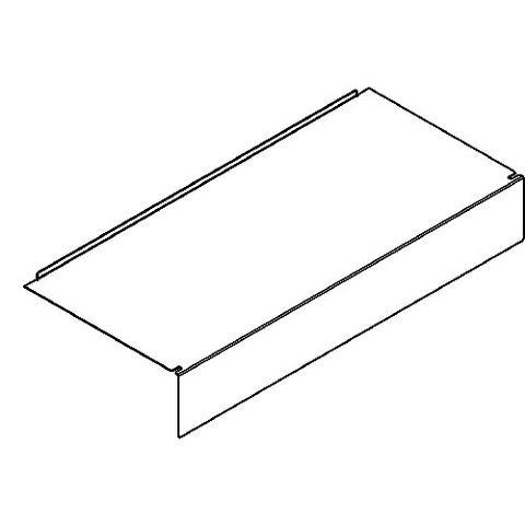 Shelving Systems- Base for a 1200/1400/1800 Gondola