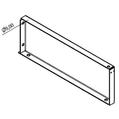 Shelving Systems- Foot for a 1200/1400/1800 Gondola