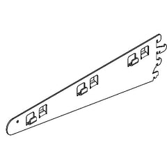 Shelving Systems- Large Shelve Brackets for a 1200/1400/1800 Gondola