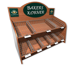 Bakery Display Systems-Counter Top