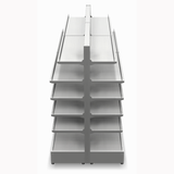 Shelving Systems- Extension bay for a LED lit 1200 double sided gondola