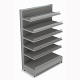 Shelving Systems- LED lit 1800 single sided 1 bay gondola