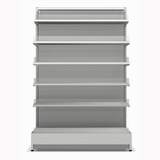 Shelving Systems- LED lit 1200 double sided 1 bay gondola