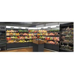 Produce Display Systems-Corner Unit