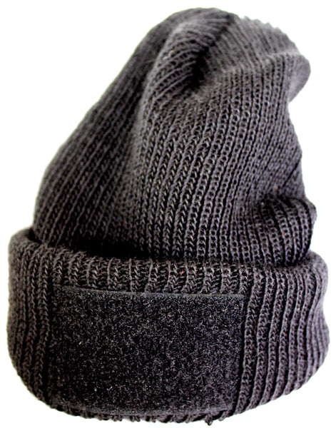Tactical Team Gear Beanie Ski Hat with Velcro