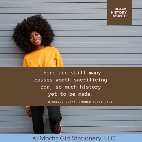 Black History Month Women Quotes-Michelle Obama