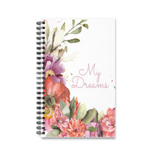 Load image into Gallery viewer, My Dreams Spiral Journal