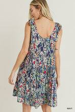 Load image into Gallery viewer, Watercolor Floral Dress