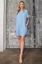 Load image into Gallery viewer, Casual Chambray Dress