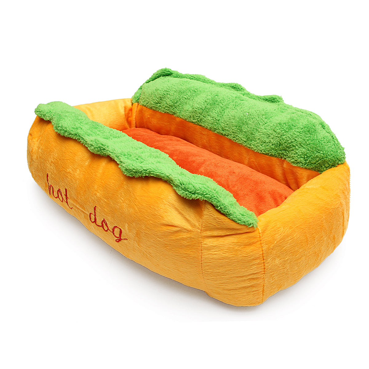 Dog Washable Cotton Kennel Dog Nest Puppy Pet Bed House Warm Cushion Pad Mat