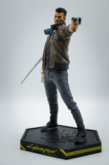 Cyberpunk 2077 PVC Statue Male V 24 cm - In Stock