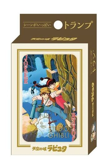 Castle in the Sky Playing Cards - In Stock