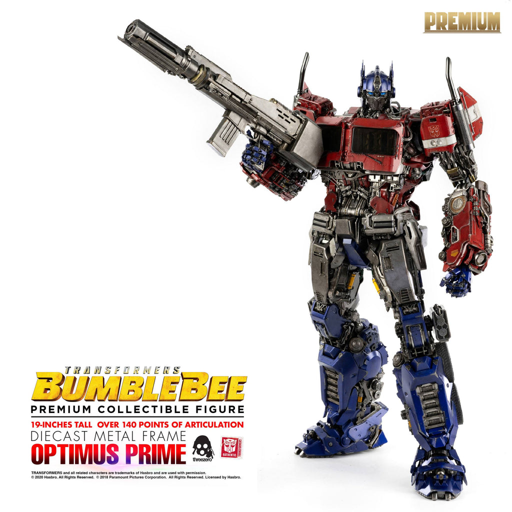 2021-05-Transformers Bumblebee Premium Action Figure Optimus Prime 48 cm