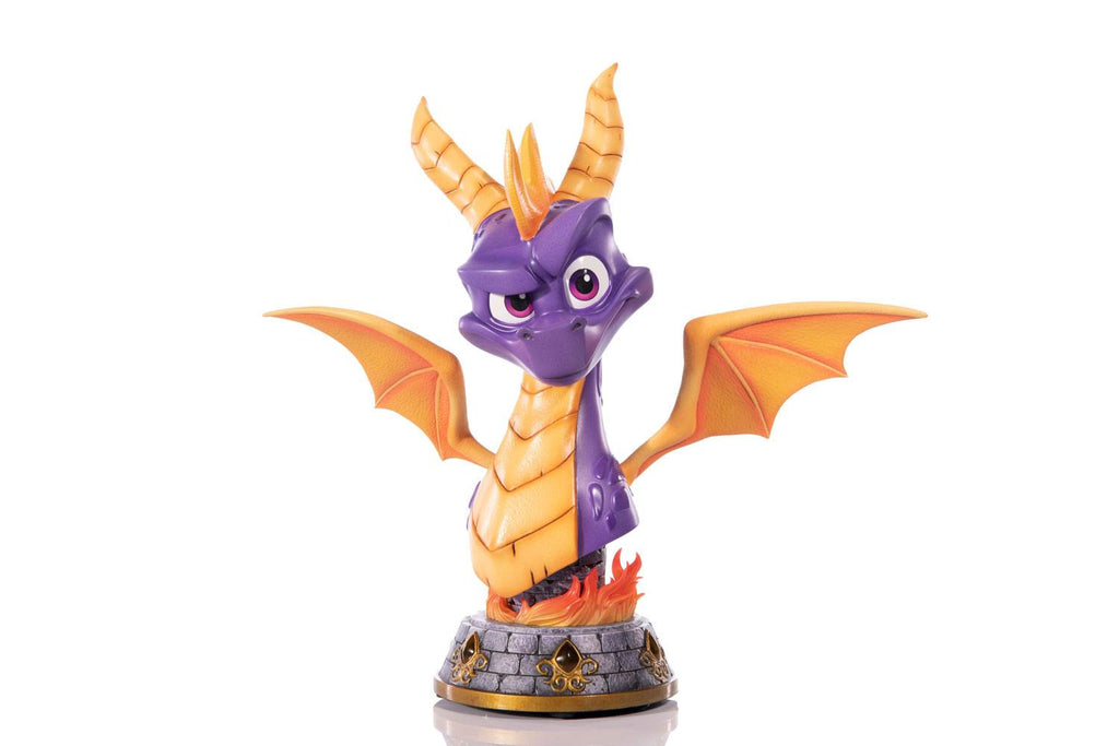 2021-08-Spyro Reignited Trilogy Grand Scale Bust Spyro 38 cm