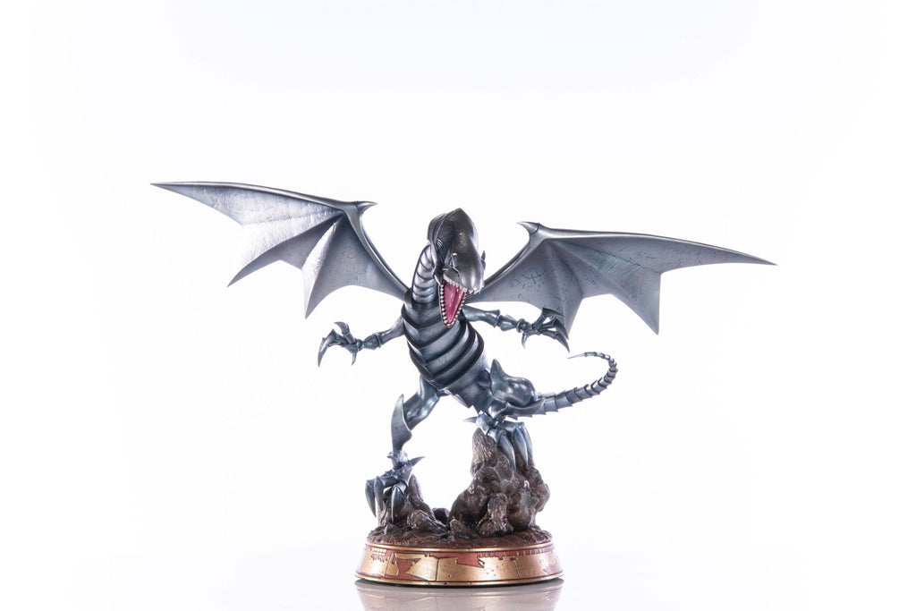 2021-08-Yu-Gi-Oh! PVC Statue Blue-Eyes White Dragon Silver Edition 35 cm