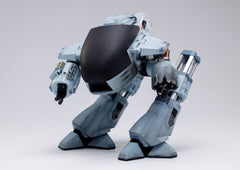 2021-08-Robocop Exquisite Mini Action Figure with Sound Feature 1/18 Battle Damaged ED209 15 cm