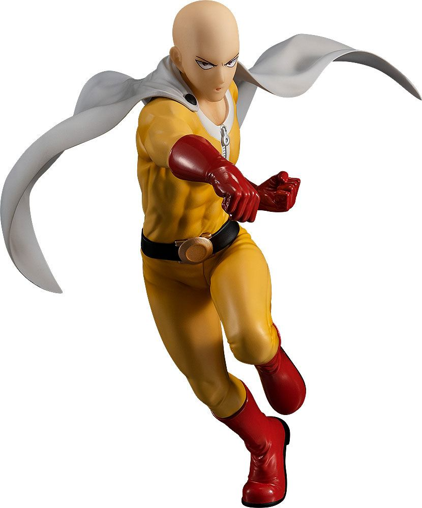 One Punch Man Pop Up Parade PVC Statue Saitama Hero Costume Ver. 18 cm - In Stock