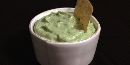 Avocado Lime Crema