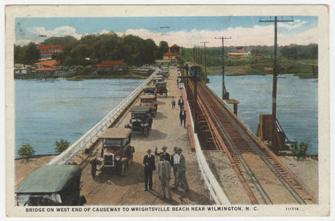 Postcard of the Old Causeway in 1929
