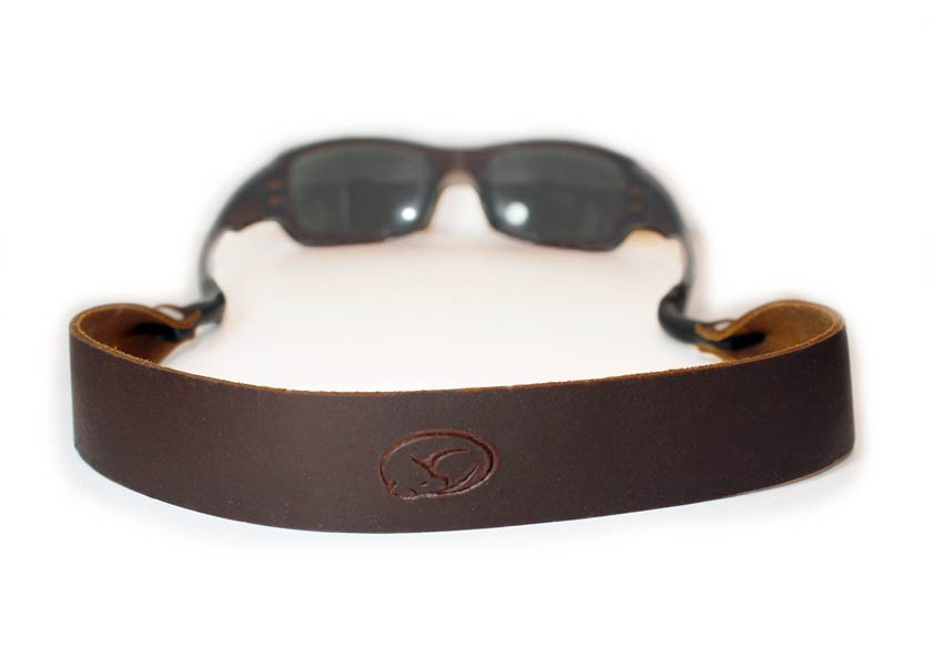 Photo of leather a sunglass strap