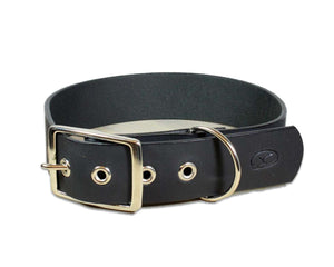 "Big Dog 1.5"" Full Grain Leather Dog Collar"