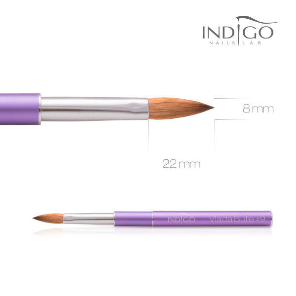 Indigo Vlada Bulle Acrylic Brush No 9