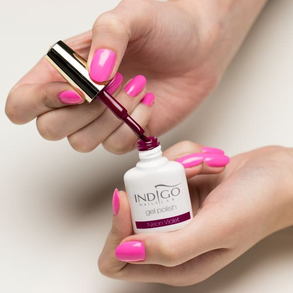 Neon Violet Gel Polish 7ml