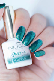 Emerald Glitter Gel Polish 7ml