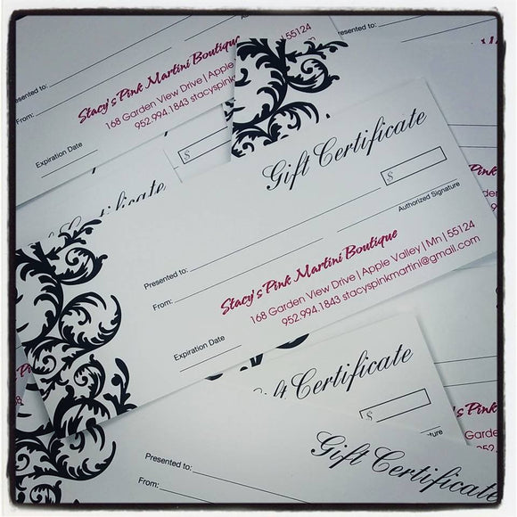 ~Gift Certificate~