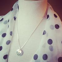 Necklace {Be} {Kind.Wise.Compassionate.Free.True.Brave.Strong.Happy.Thankful} Silver with bronze be. 2 in stock!