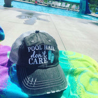Hats { POOL hair don't care } Pink, yellow, teal or coral FLIP FLOPS! Or swan floatie with a cocktail drink garnished with a cherry and umbrella.