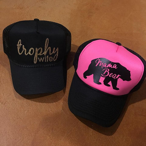 Hats { Trophy Wife } - Stacy's Pink Martini Boutique