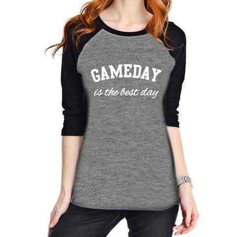 Shirt {Game day is the best day} Football. Hockey. Soccer. Basketball. Baseball. Softball.