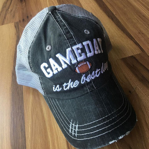 Hat {Gameday is the best day} Football
