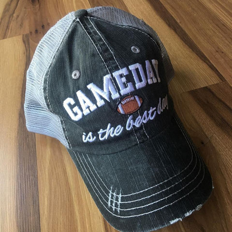 Hat {Gameday is the best day} Football - Stacy's Pink Martini Boutique