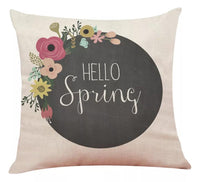 Pillows { Hello Spring } - Stacy's Pink Martini Boutique