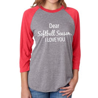 Shirts and tanks { Dear softball season I love you }