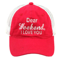 Hats and shirts { Dear weekend I love you }