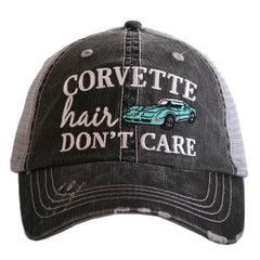 Hat {Corvette hair don't care} 6 color choices!