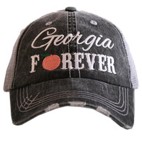 Nashville Tennesee hats and totes | Tennessee born and raised | State hats | Alabama, Georgia, Mississippi, Ohio - Stacy's Pink Martini Boutique