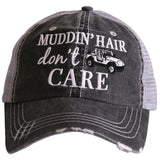 Hats { Muddin' hair don't care } { Messy hair don't care } Assorted colors! - Stacy's Pink Martini Boutique
