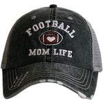 Hats { Football } Mom life