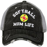 Baseball and Softball • Baseball mom hats • Softball mom hats • jewelry and clothing. - Stacy's Pink Martini Boutique