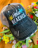 Hats { Beach hats } Vacation, girls weekend! Beach. Beach hair dont care, Beachaholic, Beach bum, Beach babe, Beach - Stacy's Pink Martini Boutique