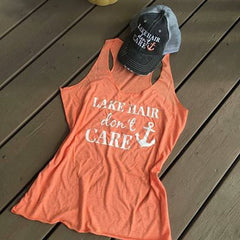 Hats OR tanks {Lake hair don't care} Hat~Teal, pink, purple or coral anchor. Tanks~Teal, navy blue, coral or black.