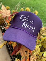 Hat. Football mama. Purple with white glitter letters. 1 left! $10 hat sale! - Stacy's Pink Martini Boutique